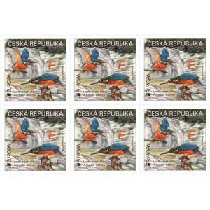 1026 PL - EUROPA: Národní ptáci – Ledňáček říční