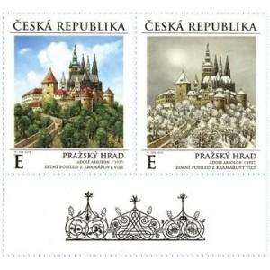 1027-1028 (KD) - Pražský hrad v ročních obdobích