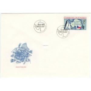 2978 FDC - 30. výročí Smlouvy o Antarktidě