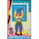 Mi DE 1695A (aršík) - Zpívající klaun