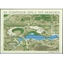 Mi DE 723-726A (aršík) - XX. letní olympijské hry Mnichov 1972