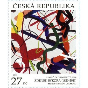 1033 - Umění: Zdeněk Sýkora: Linie č. 56 (Humberto)
