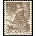 0750 - Husitský bojovník s mečem a štítem