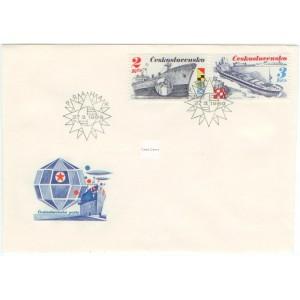 2885-2890 FDC (série) - Čs. námořní plavba