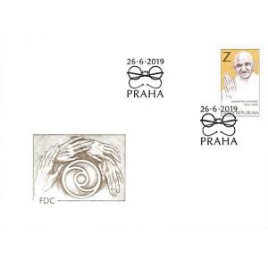 1037 FDC - Mahátma Gándhí