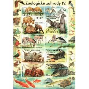 1038-1041A (aršík) - Ochrana přírody: Zoologické zahrady IV