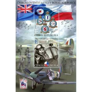 1046-1047A (aršík) - Českoslovenští letci v RAF