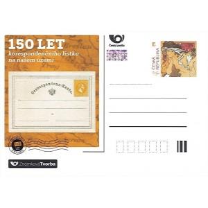 ZT02 - 150 let korespondenčního lístku na našem území