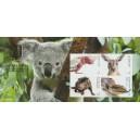 Mi AU 4732-4735 - Australská fauna