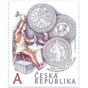 1057 - 500. výročí zahájení ražby Jáchymovských tolarů
