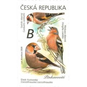1067-1068 (série) - Zpěvní ptáci