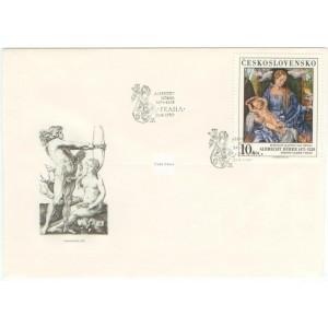 2892-2893 FDC (série) - Poklady Národní Galerie