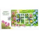 Mi JE 1247-1257KB FDC - Květiny