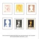 Grafický list Hans von Aachen – Hlava dívky