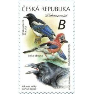 1076-1077 (série) - Zpěvní ptáci II
