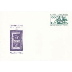COB2 - Letní olympijské hry Atlanta 1996 - Olymphilex ´96