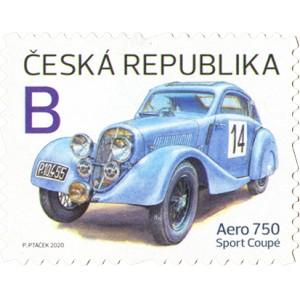 1095 - Dopravní prostředky: Aero 750 Sport Coupé