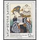 Utagawa Kunisada: Dívka s loutkou