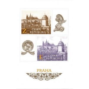 1100-1101A (aršík) - Pražské motivy