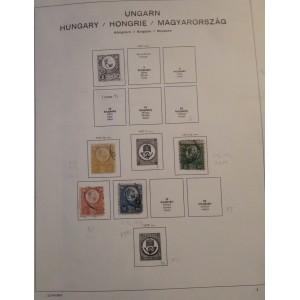 Sbírka Maďarska 1871-1985 (3x album Schaubek)