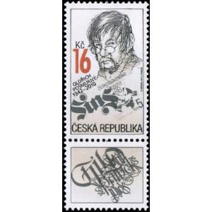 0913 KD - Tradice české známkové tvorby — Oldřich Pošmurný