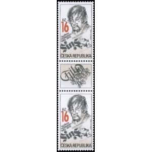 0913 (spojka) - Tradice české známkové tvorby - Oldřich Pošmurný