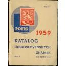 Katalog československých známek POFIS 1959