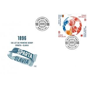 1113-1114 FDC - První derby Sparta – Slavia