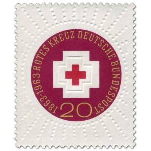 Mi DE 400 - 100 let mezinárodního Červeného kříže