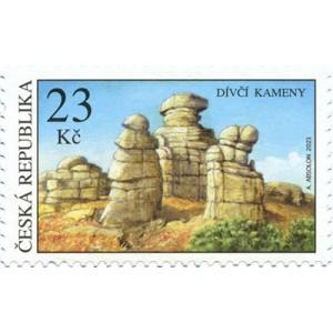 1117 - Unikátní skalní útvary: Dívčí kameny