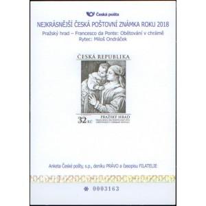 AČP25 - Anketa o nejkrásnější poštovní známku 2018