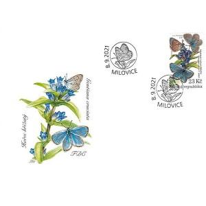 1126-1129 (série FDC) - Ochrana přírody: Milovice