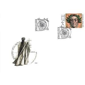 1130-1131 (série FDC) - Dante Alighieri