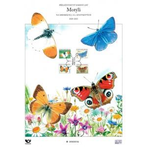 Pamětní list PLO 2021/3 - Motýli