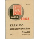 Katalog československých známek POFIS 1953
