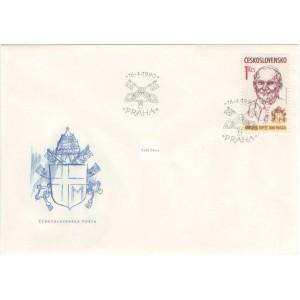 2938 FDC - Návštěva papeže Jana Pavla II.