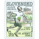 0084 - 100 let olympijských her - Alojz Szokol