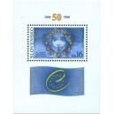 0179A (aršík) - 50. výročí založení Rady Evropy