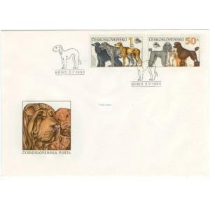 2947-2950 FDC (série) - Světová výstava psů