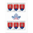Slovenský státní znak - aršík