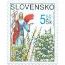 Velikonoční známka 2002